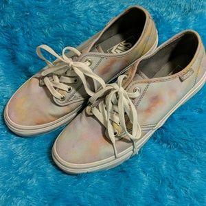 Marble Watercolor Tye Dye Vans